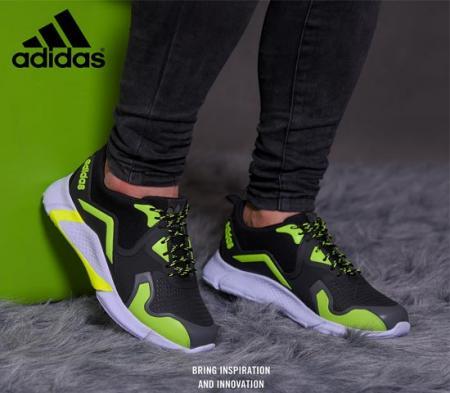 کفش مردانه Adidas مدل Zinax (مشکی .سبز)