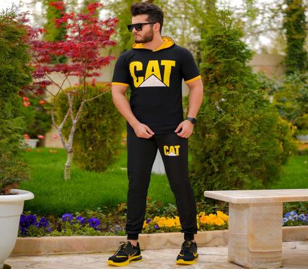 ست تیشرت و شلوار CAT مدل Krysta