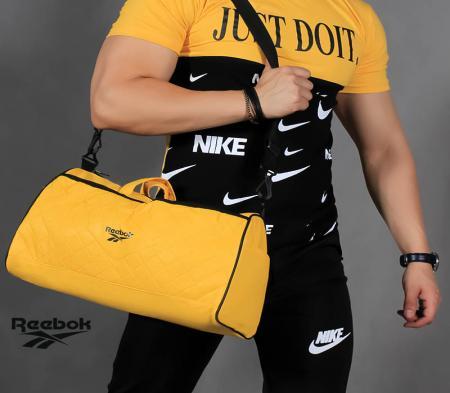ساک ورزشی مدل Tadeo (زرد)