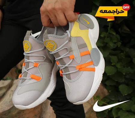 کفش مردانه Nike مدل  ALPA (طوسی زرد)